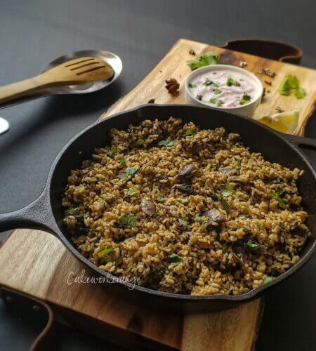 Thalappakatti Mushroom Biryani Recipe