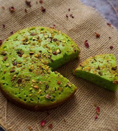 Paan Cake Recipe | Betel Leaf Flavoured Cake