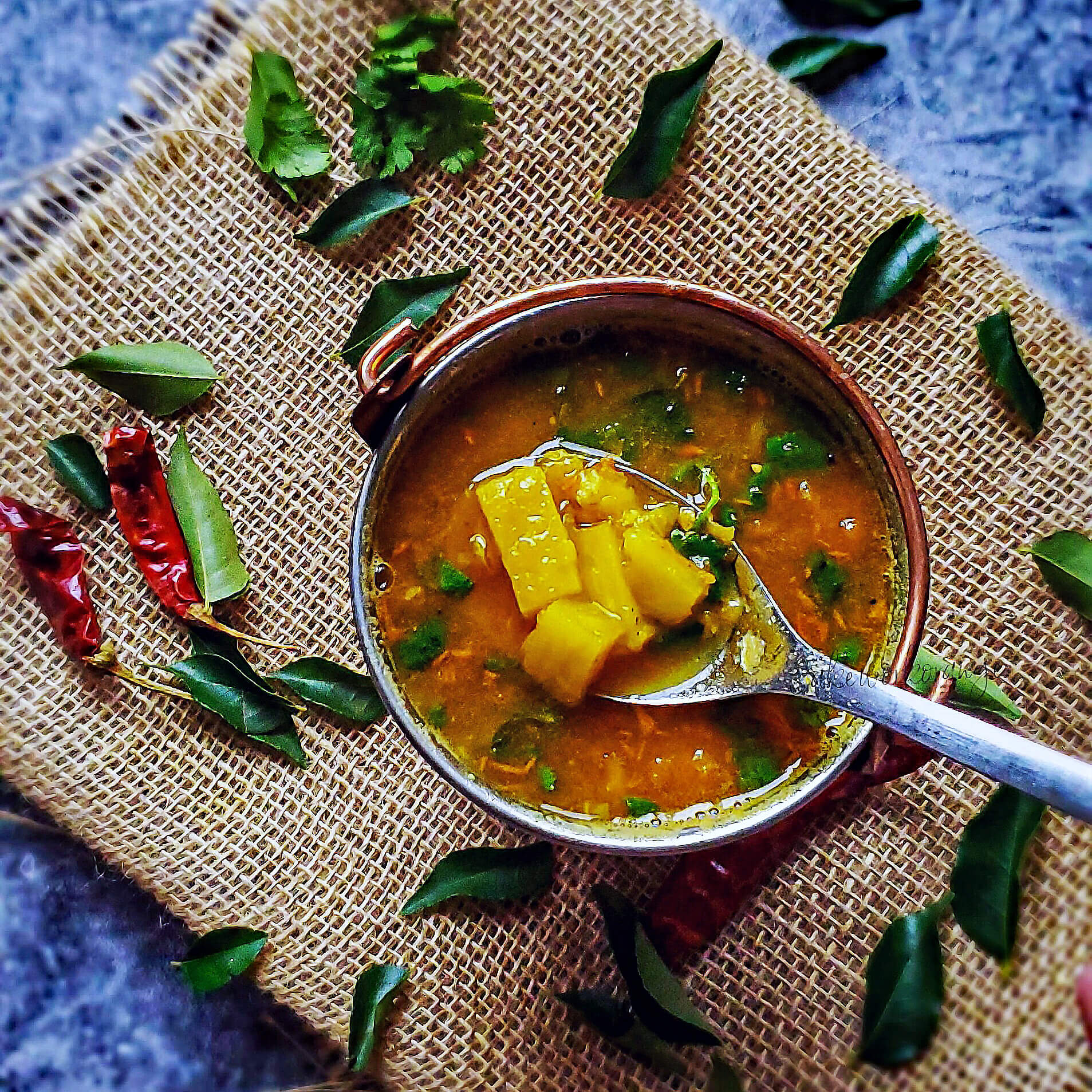 Pineapple Rasam Recipe | South Indian Soup