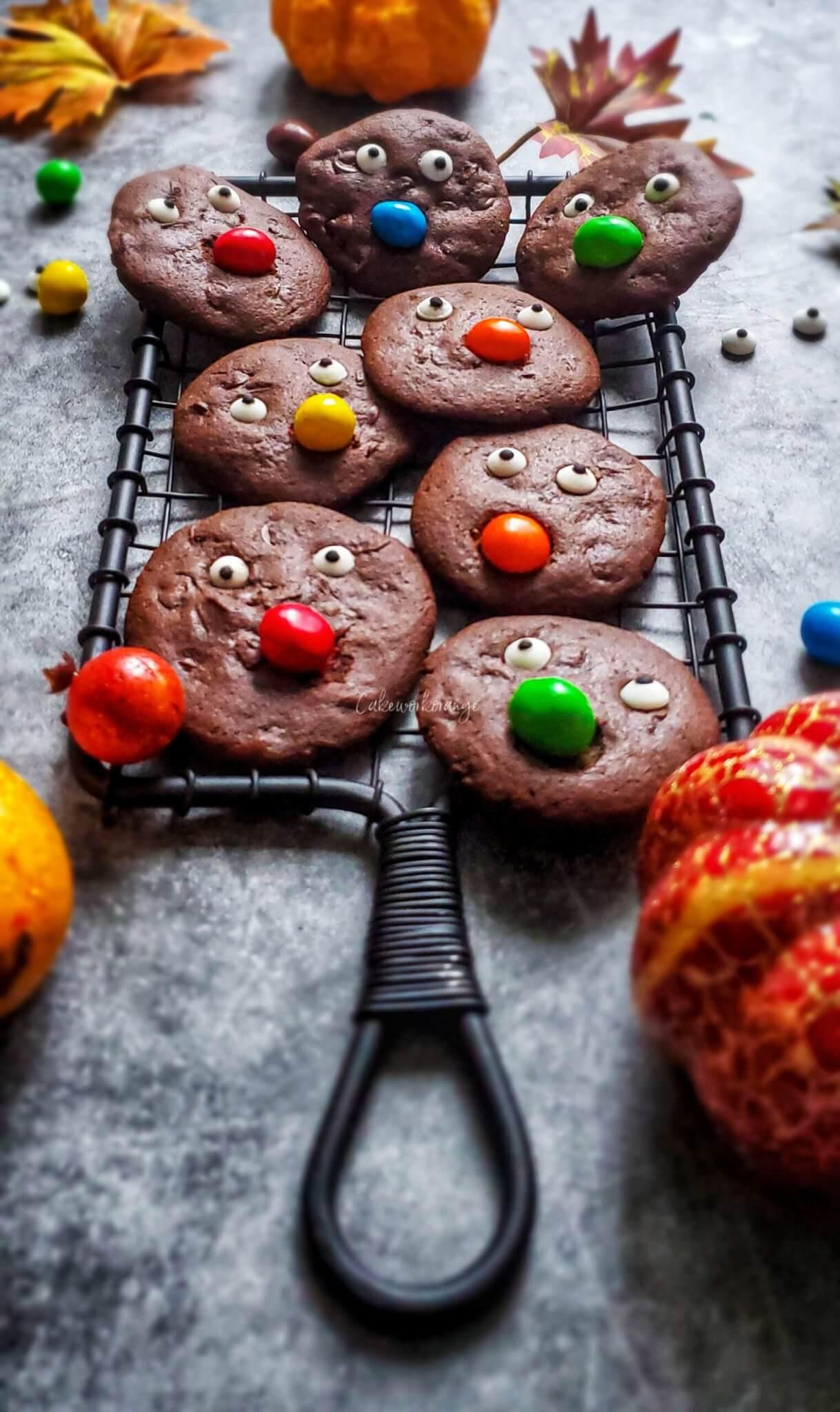 Halloween Chocolate cookies