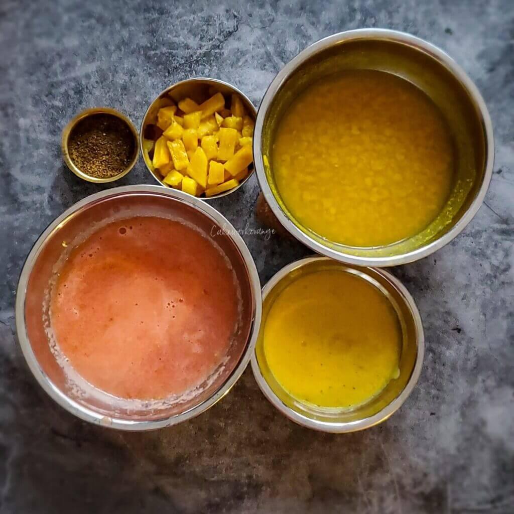 Pineapple Rasam Ingredients