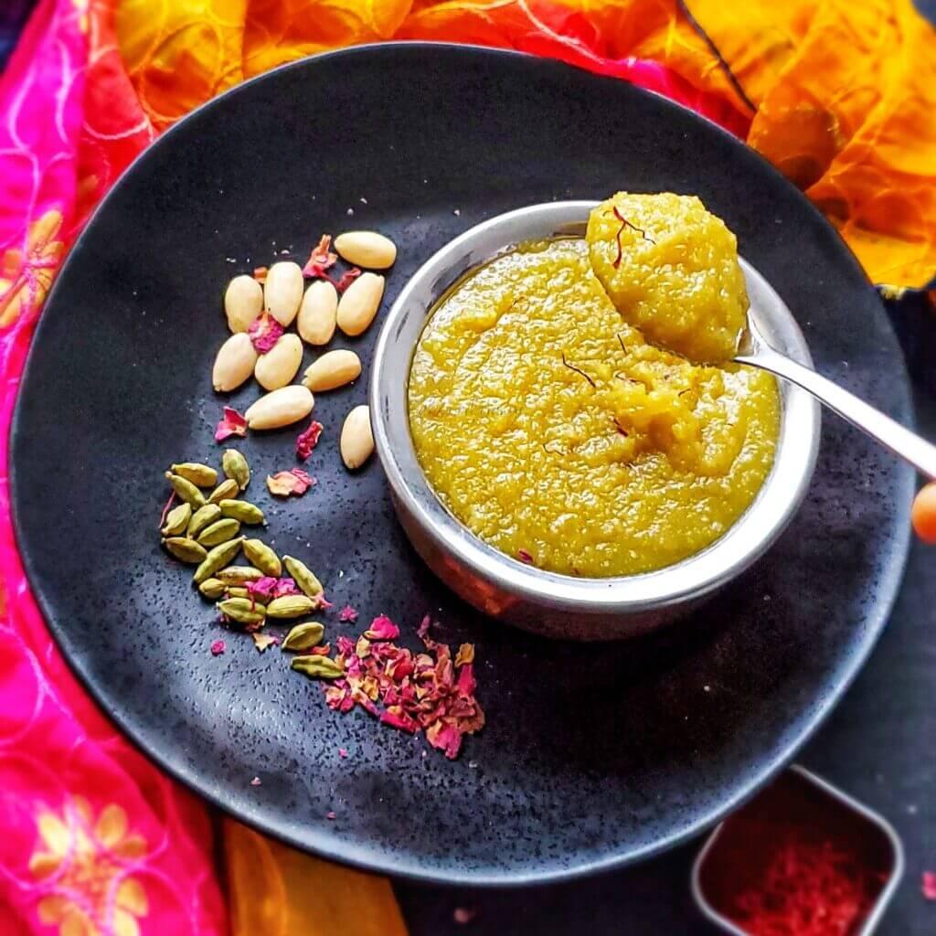 Badam Halwa/Almond Flour Halwa