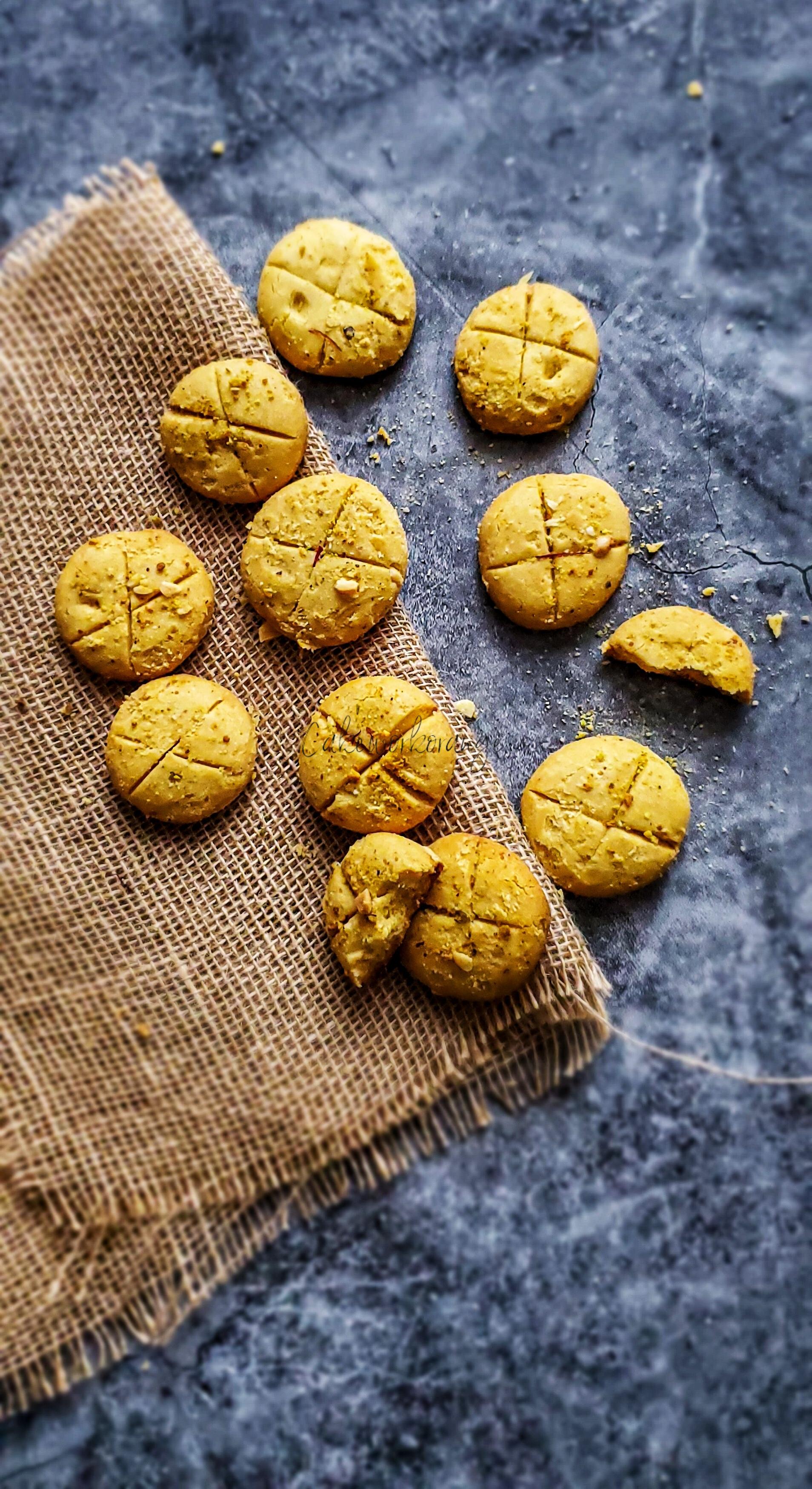 Nankhatai | Eggless Indian Cookies