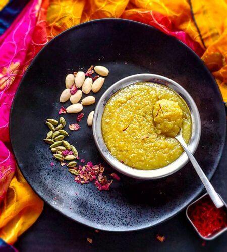 Badam Halwa | Almond Flour Halwa