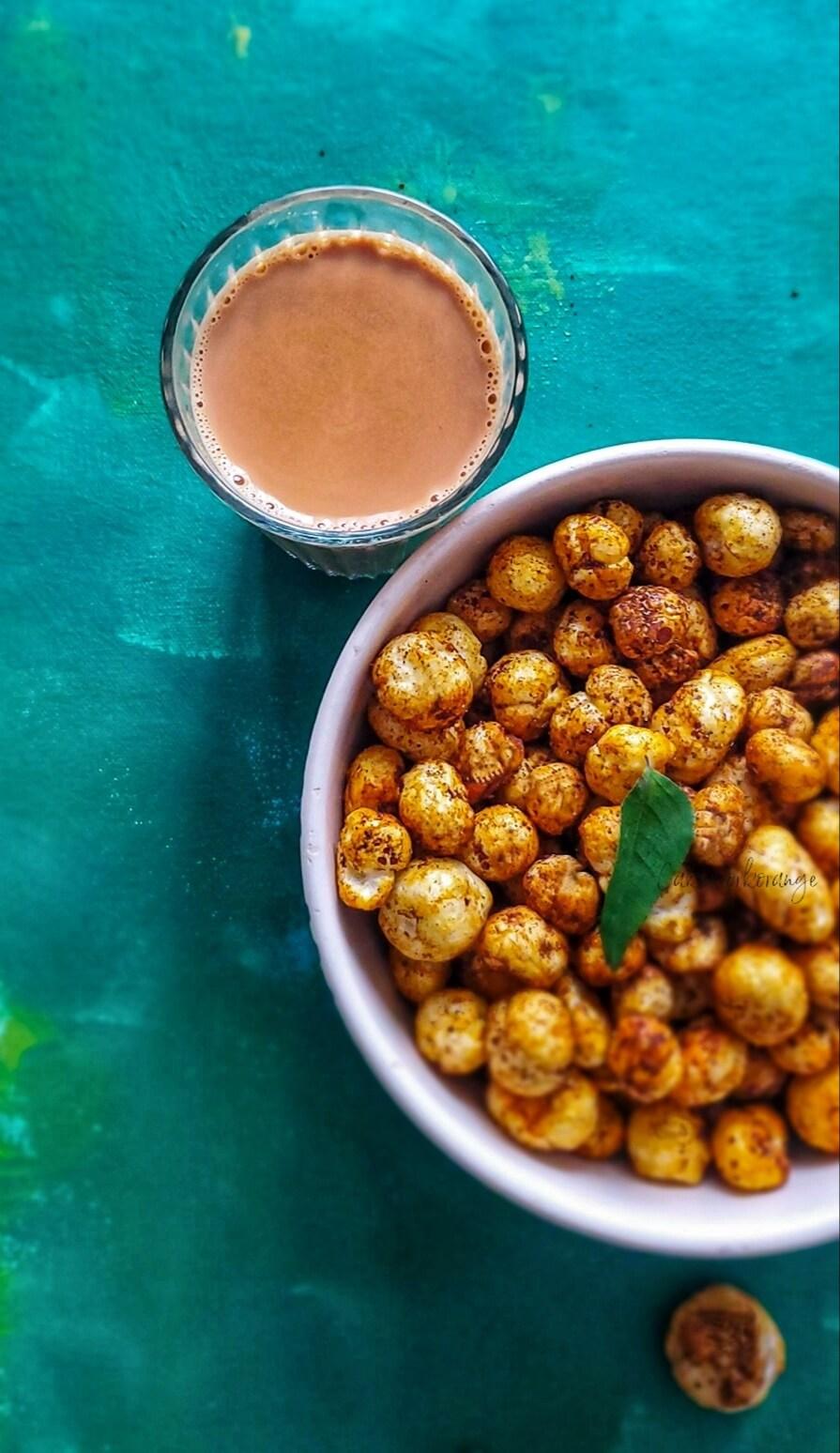 Roasted Phool Makhana   Roasted Fox Nuts