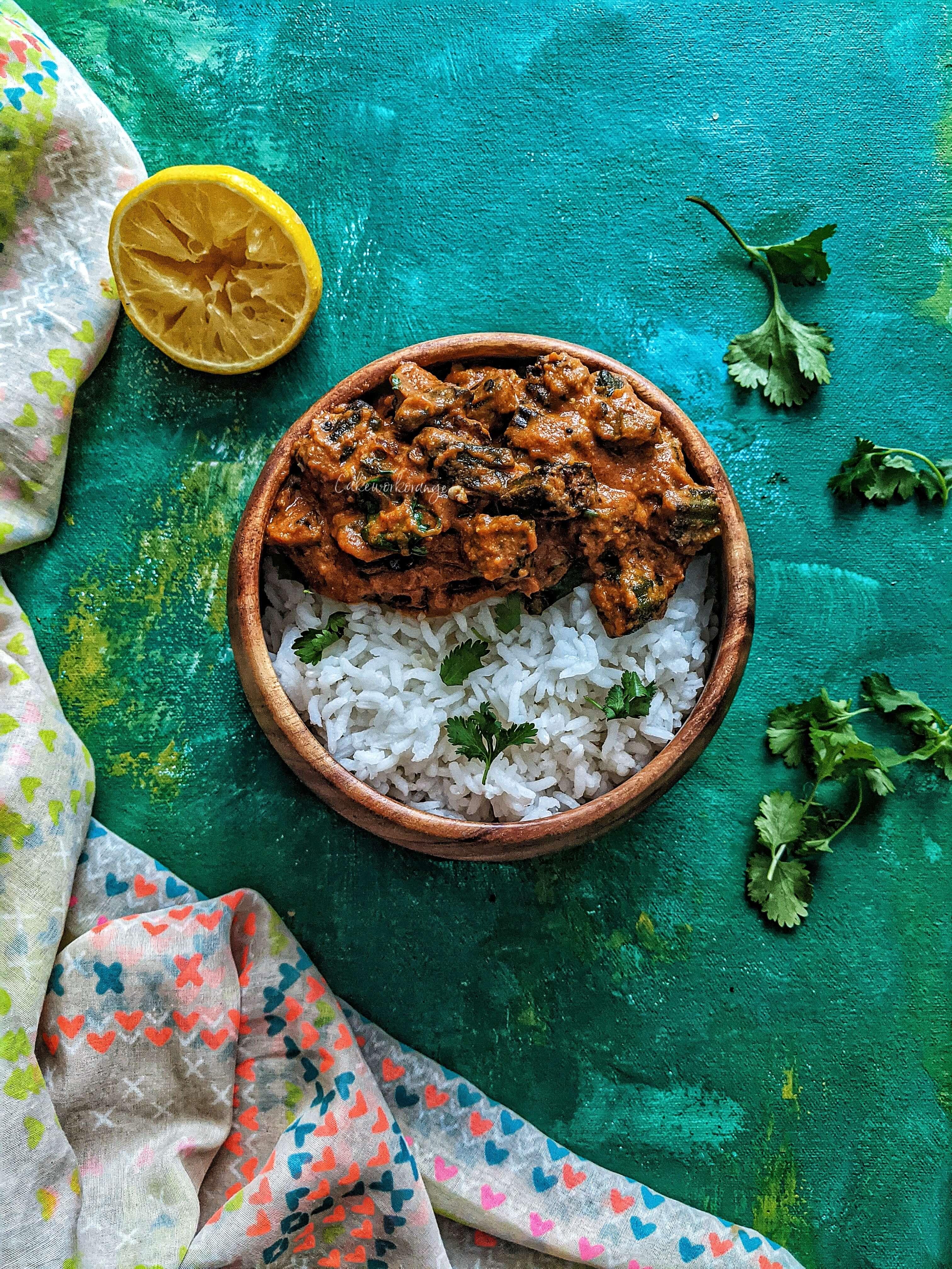 Bhindi Masala Gravy | Ladies Finger Masala