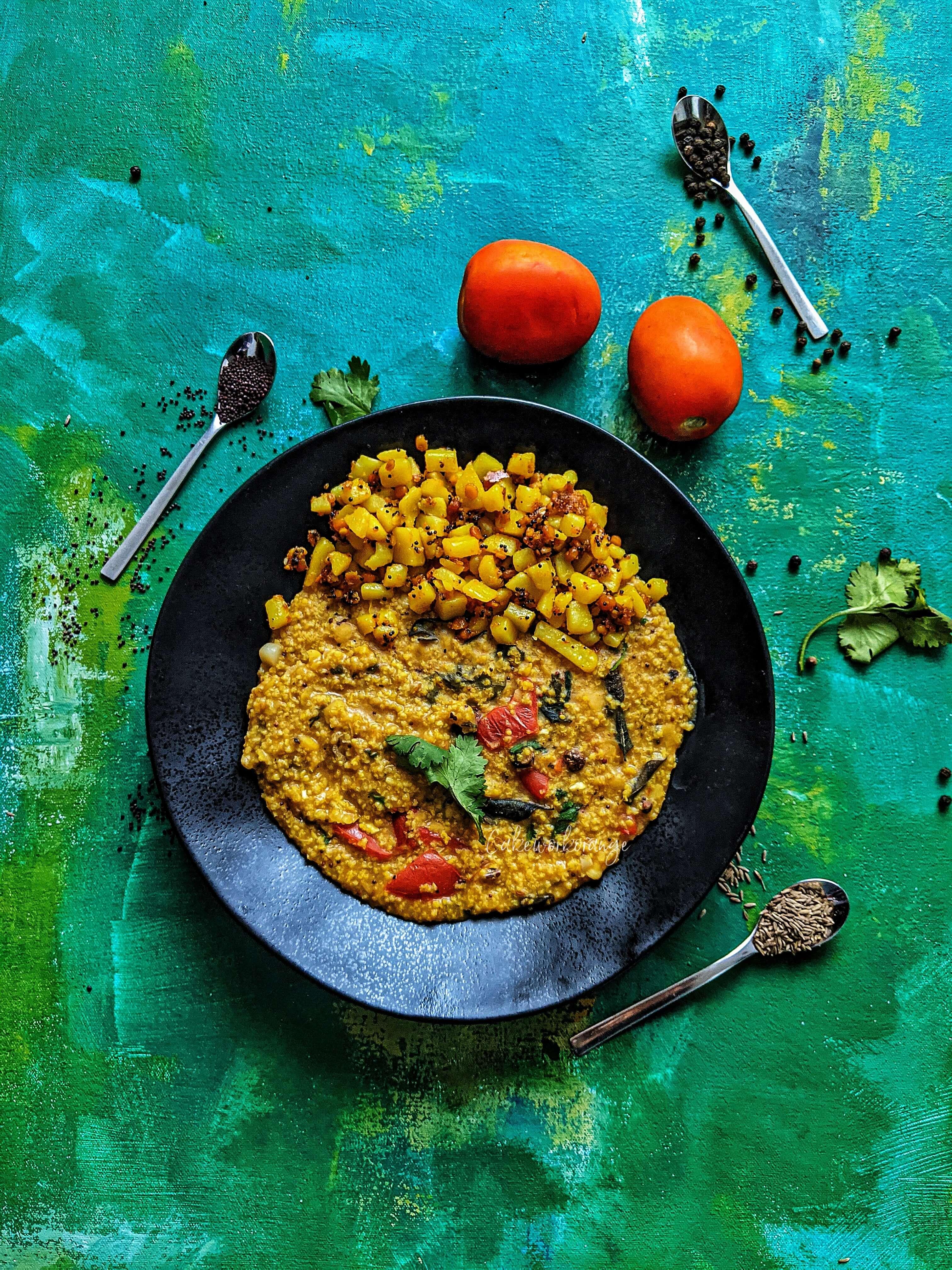One-Pot Rasam Rice | Instant Pot Rasam Rice