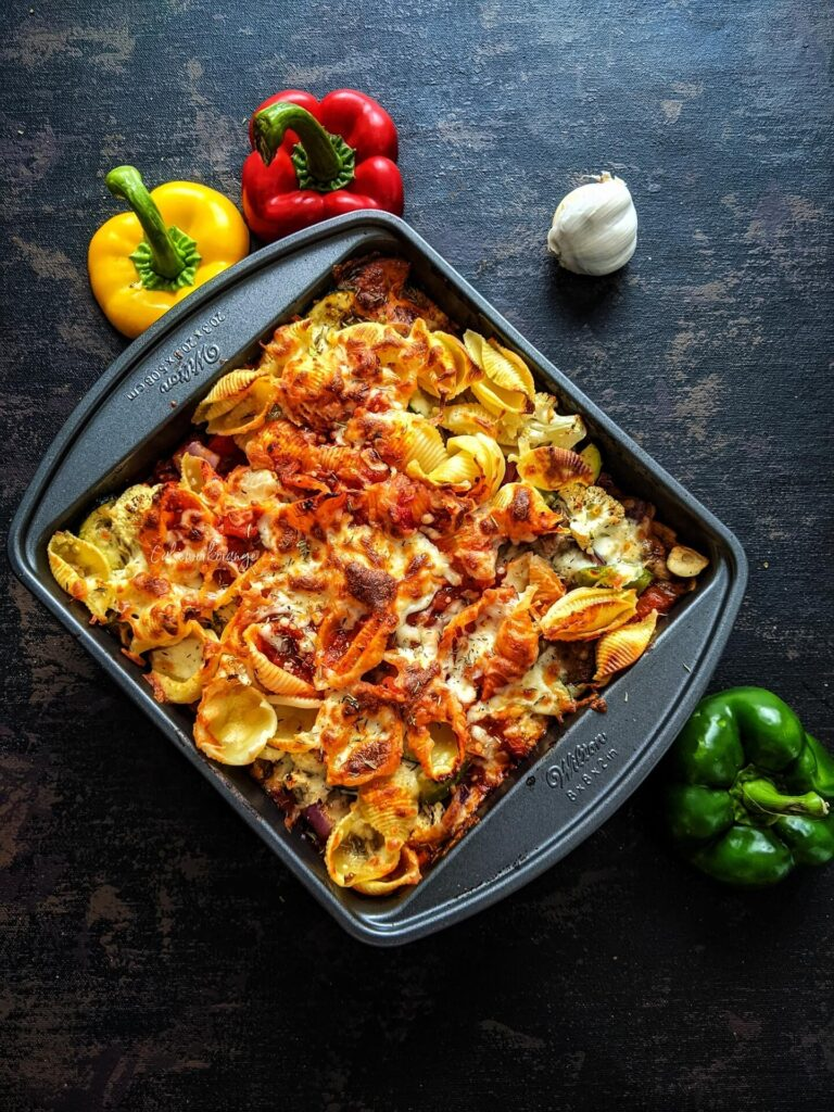 Baked Pata with Roasted Vegetables