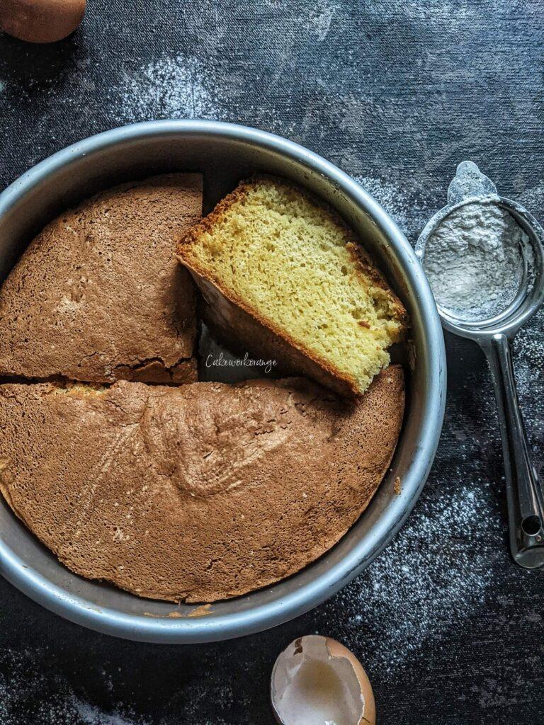 The Bst Vanilla Cake