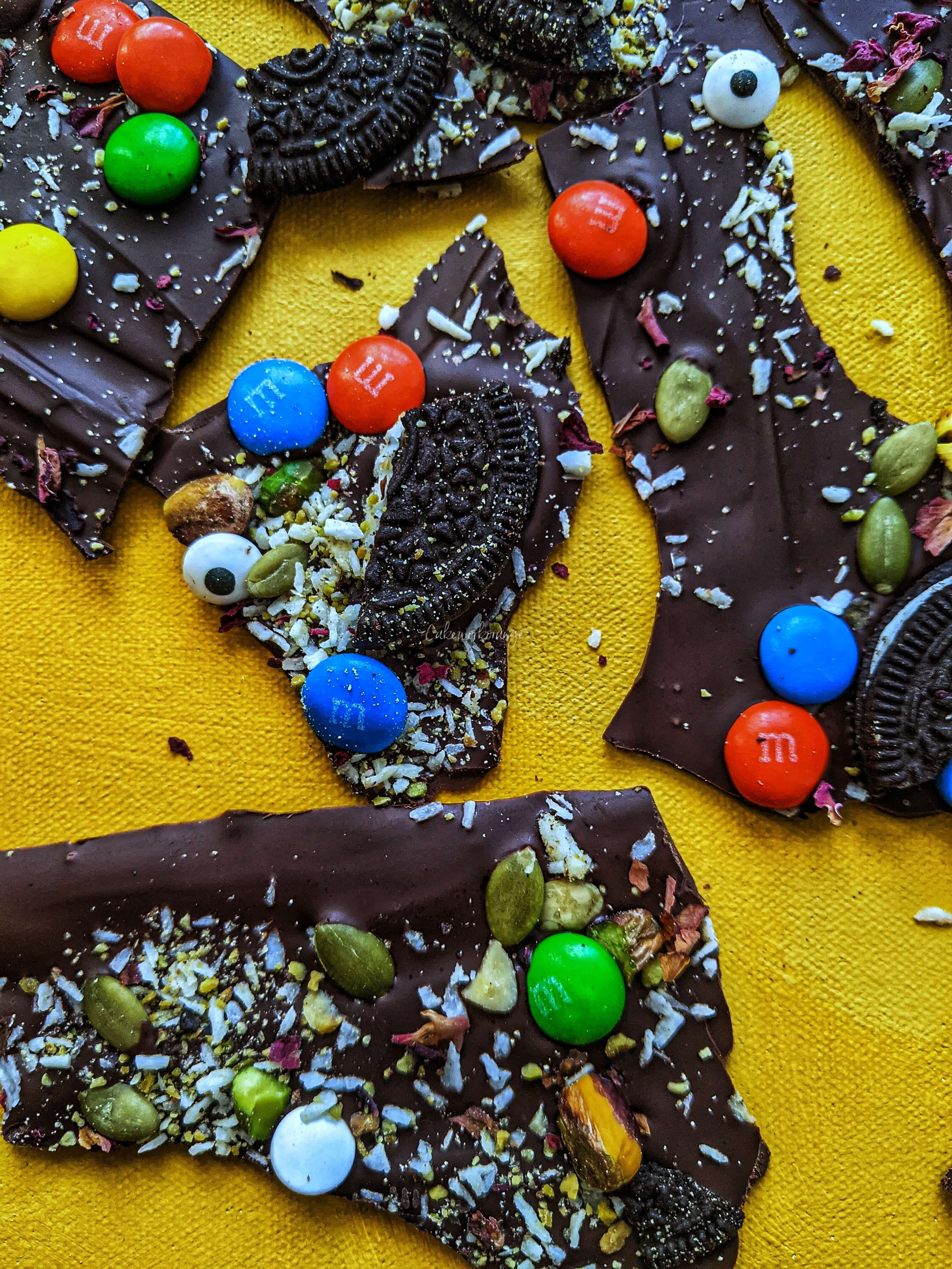 How to make Chocolate Bark | Holiday Dessert