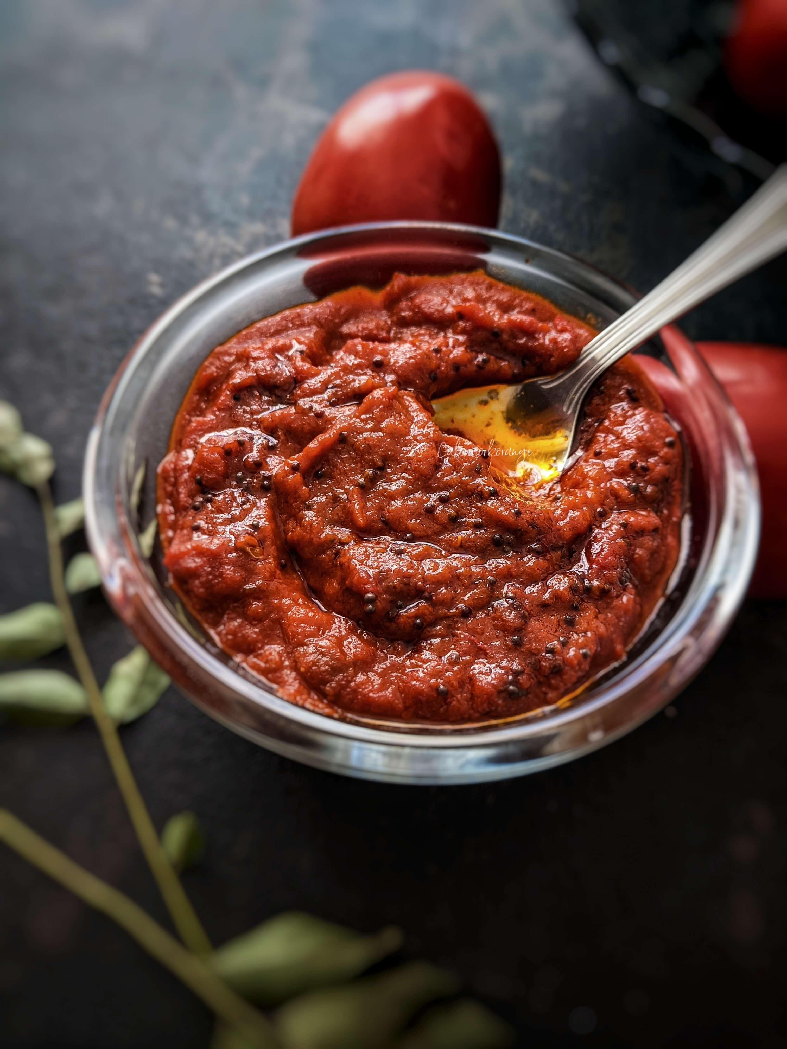 Tomato Thokku | Easy Tomato Relish