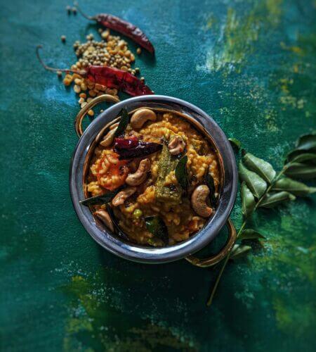 Sambar Rice | Easy Sambar Sadam