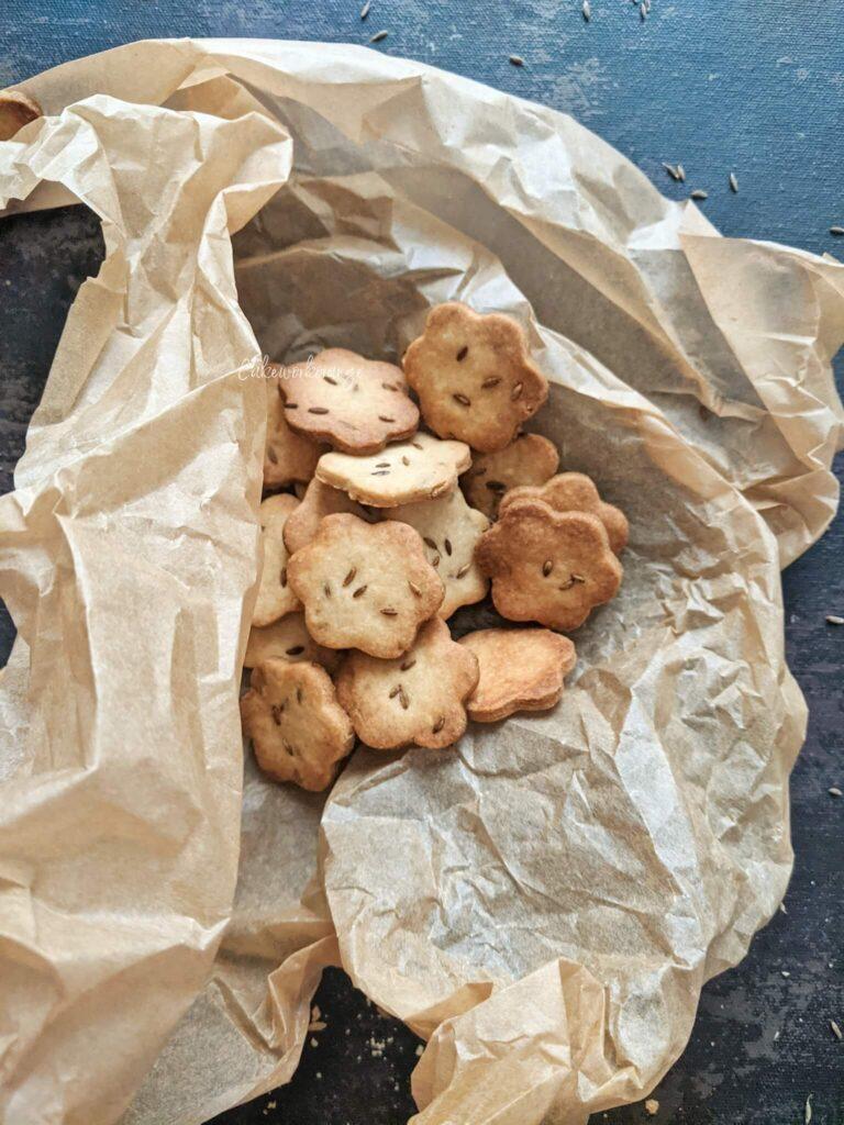 Wholewheat Jeera Cookies