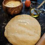 Instant Pot Wholewheat Pizza Dough