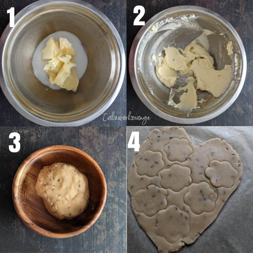 How to make wholewheat cumin cookies