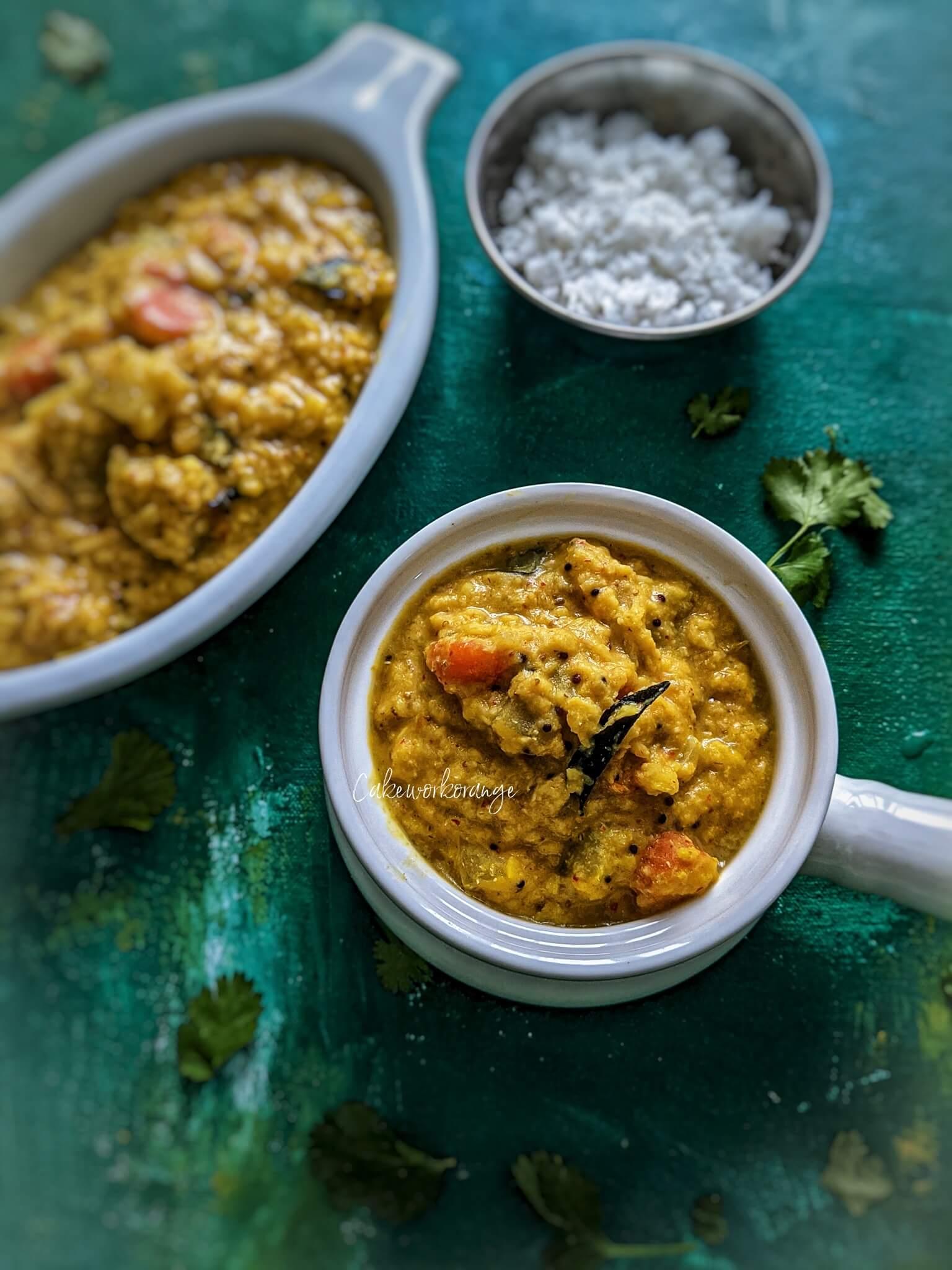 Instant Pot Kootu   Mixed Vegetable Kootu Recipe
