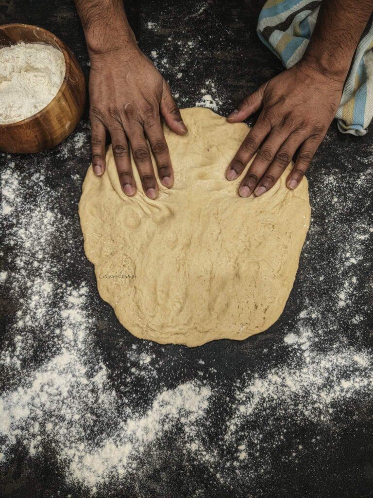 Wholewheat Instant Pot Pizza Dough