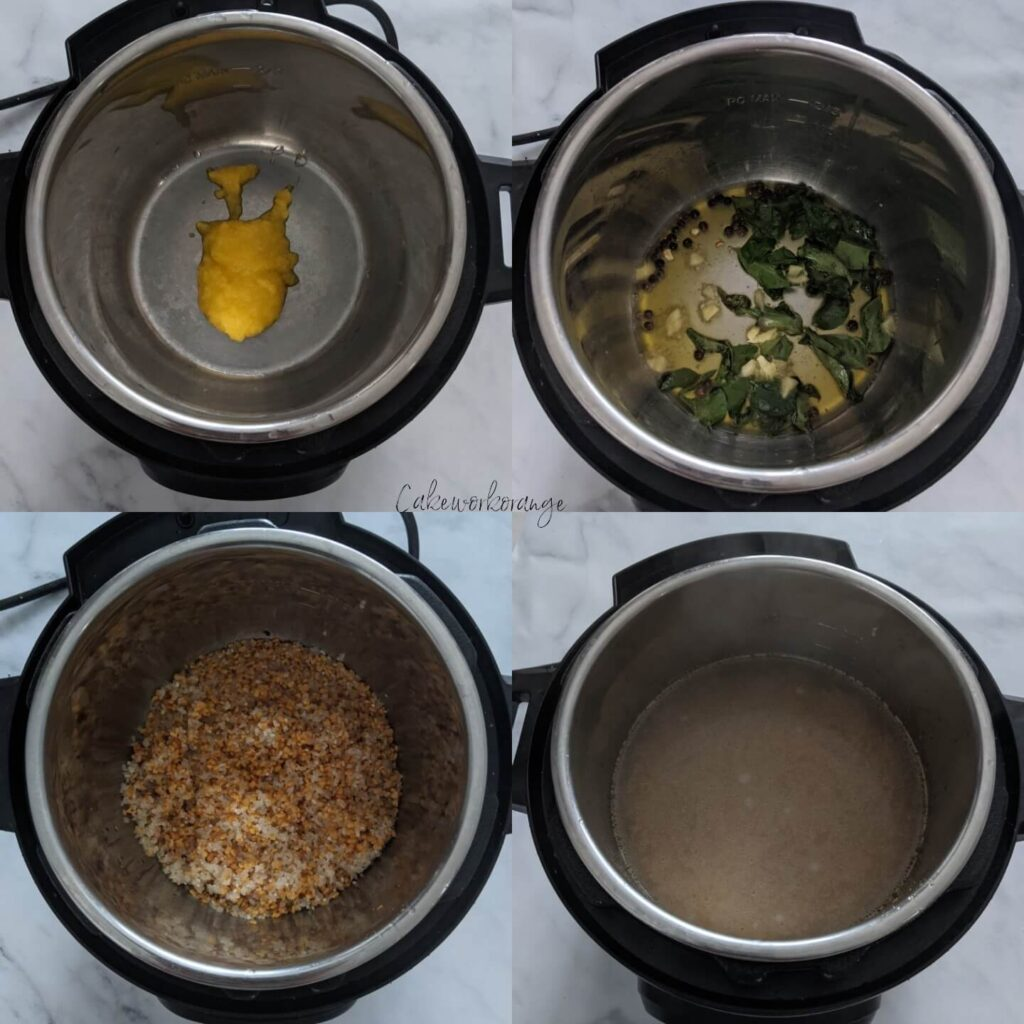 Instant Pot Ven Pongal