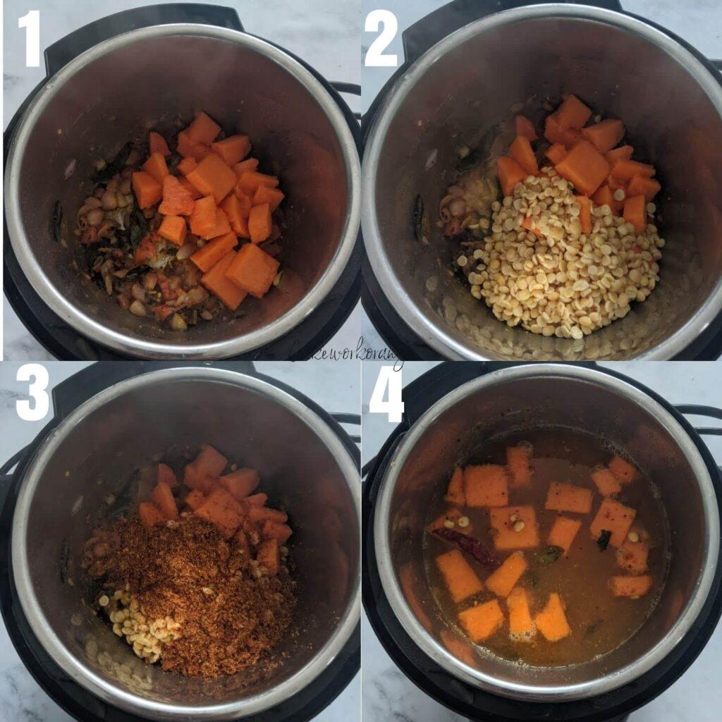 How to make Tiffin Sambar