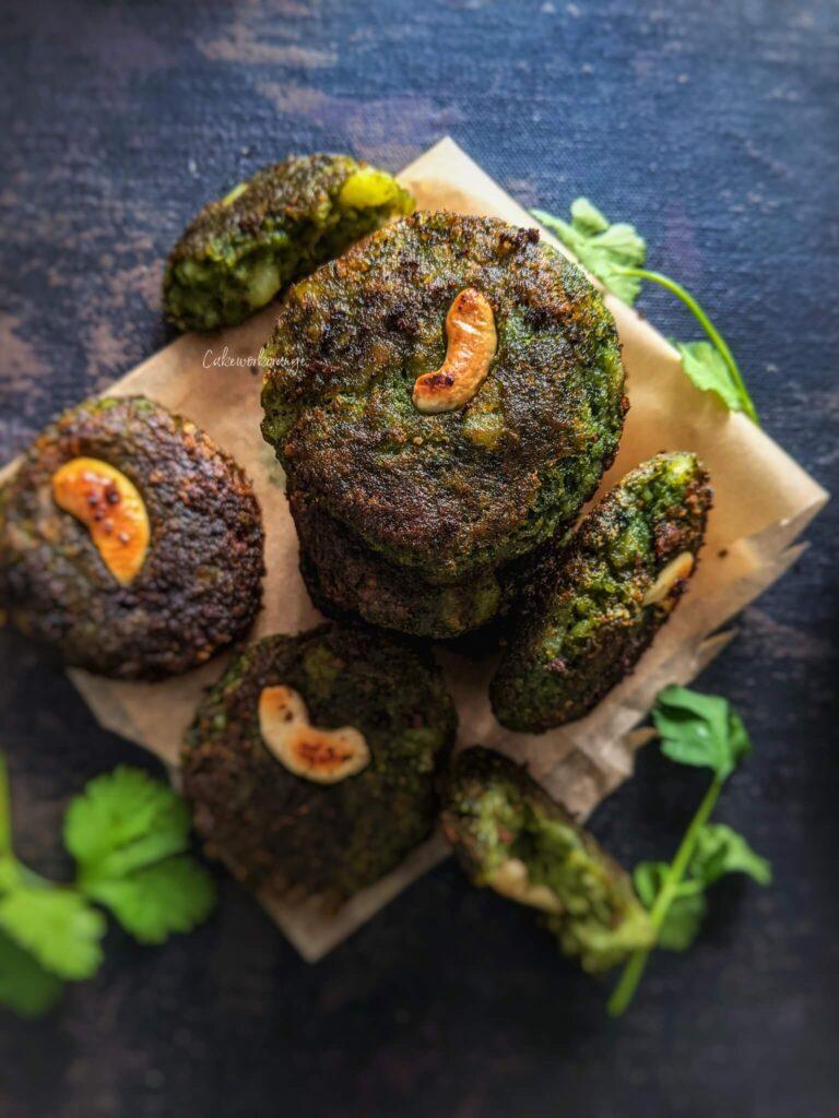 Spinach Vegetable Kebab