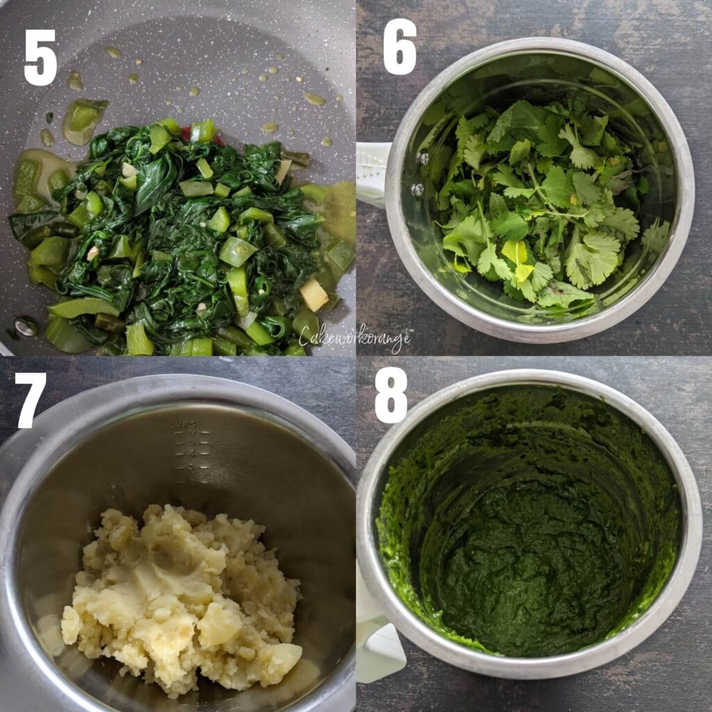 How to make spinach cu