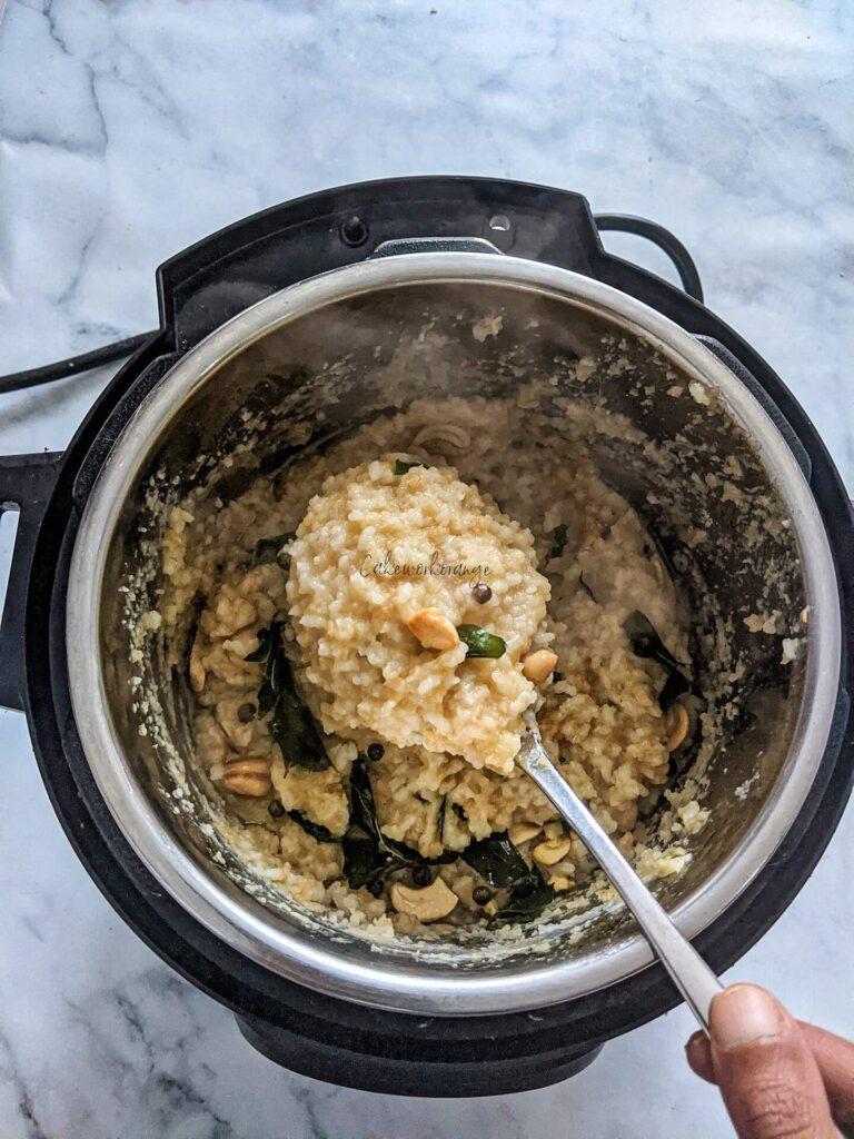 Instant Pot Pongal
