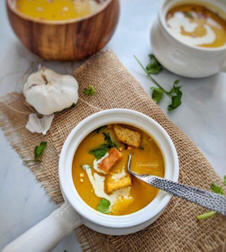 Instant Pot Butternut Squash Coconut Milk Soup