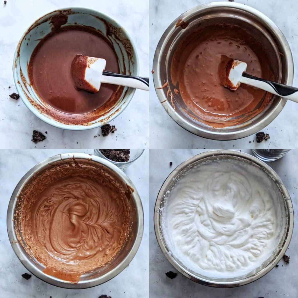 How to make oreo mousse