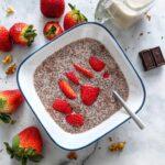 5 Ingredient Strawberry Chia Pudding