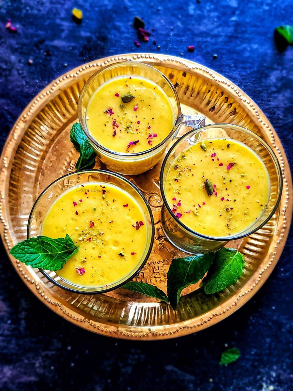 Vegan Mango Lassi