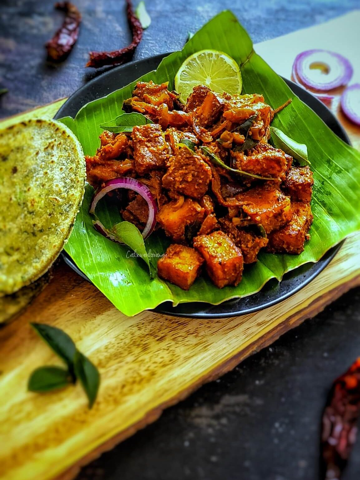 Spicy Paneer Ghee Roast